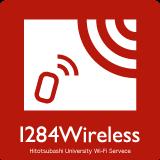 1284Wireless (Hitotsubashi University Wi-Fi Service)